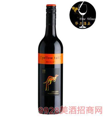 黄尾袋鼠梅洛干红葡萄酒
