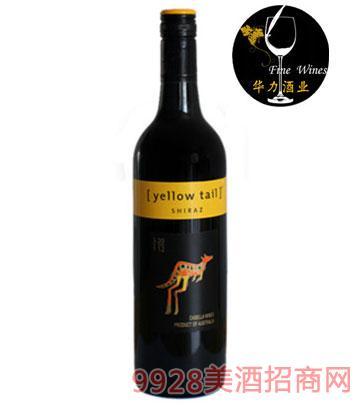 黄尾袋鼠西拉干红葡萄酒