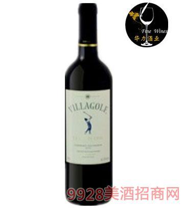 智利维拉高尔夫加本纳索维浓红葡萄酒