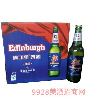 爱丁堡伯爵啤酒500ml瓶装