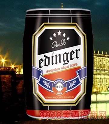 8°P德国慕尼黑埃丁格黑啤酒5L×1桶