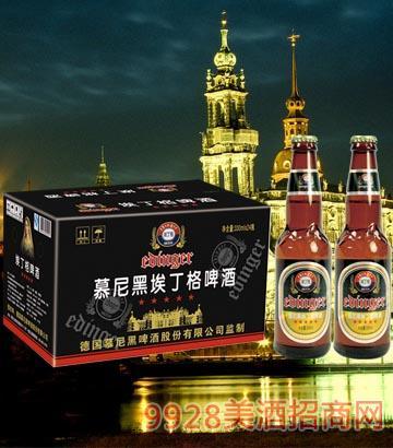 8°P德��慕尼黑埃丁格�H王啤酒330ml×24