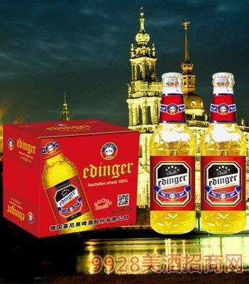8°P德��慕尼黑埃丁格啤酒500ml×12瓶
