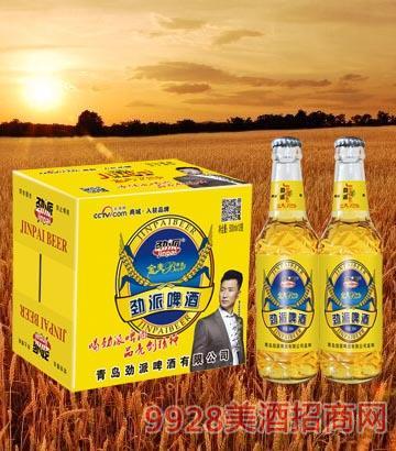10°P劲派金麦啤酒500ml×12瓶