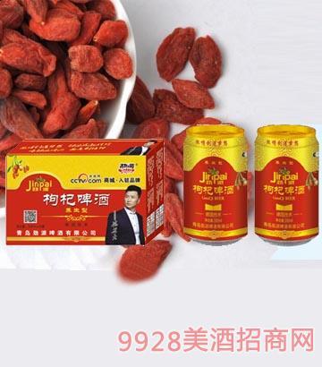 劲派枸杞养生啤酒330ml×24瓶_青岛劲派啤酒有限公司