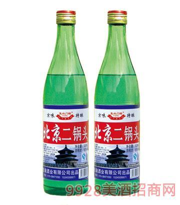北京二��^酒56度�G瓶�团d�T