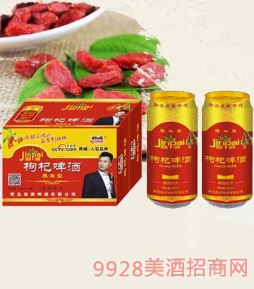 10°P劲派枸杞啤酒500ml×12罐
