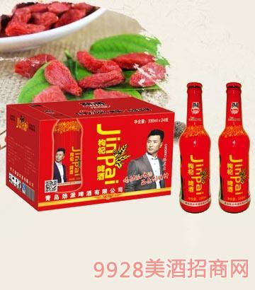 10°P劲派枸杞啤酒330ml×24瓶