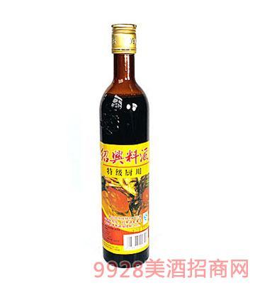 绍兴料酒陈年三年500ml