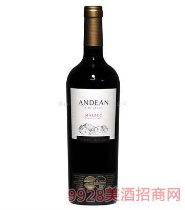 安第斯红葡萄酒