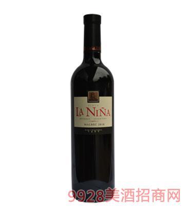 阿根廷麗娜馬爾貝克干紅葡萄酒