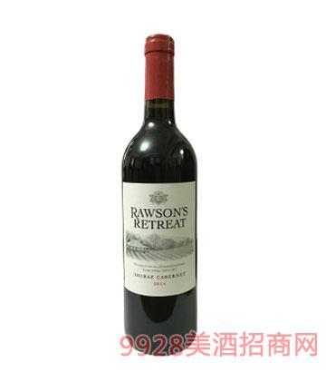 澳洲奔富洛神山庄设拉子赤霞珠干红葡萄酒