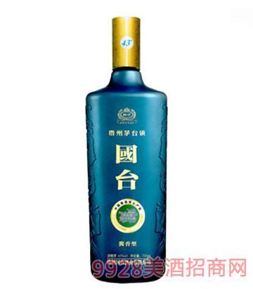 国台酒酱香43度蓝