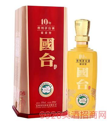 国台酒十年珍藏