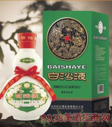 绿盒白沙液酒