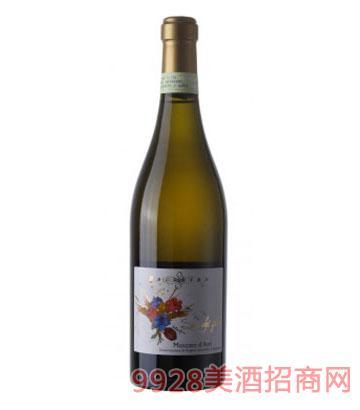 宝仙露莫斯卡托微泡甜白葡萄酒