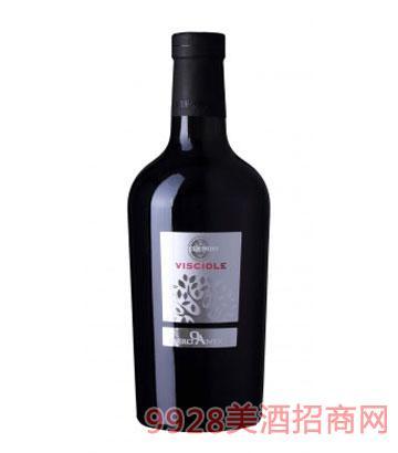 雅诺丝红宝蕾甜红葡萄酒