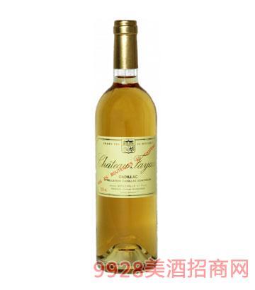 法金酒庄甜白葡萄酒