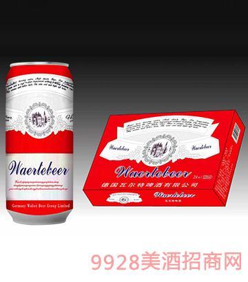 德国瓦尔特啤酒红罐500ml