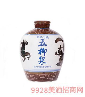 五柳泉酒三十斤坛
