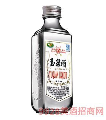 玉泉酒小方瓶52°