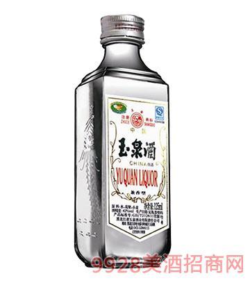 玉泉酒小方瓶42°