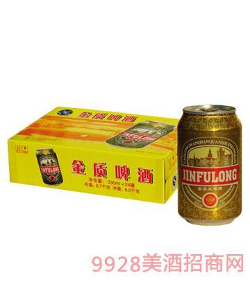 金孚龙啤酒330ml×24