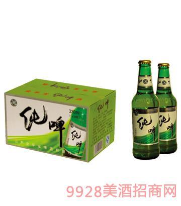 沂山纯啤啤酒330mlx24
