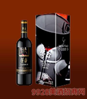 茅台经典黑方盒干红精品葡萄酒