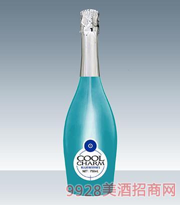 酷魅起泡酒灵动蓝莓味