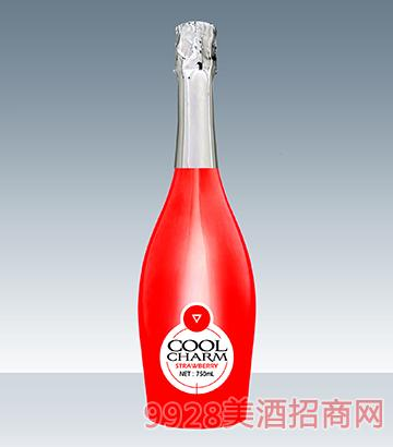 酷魅起泡酒甜蜜草莓味