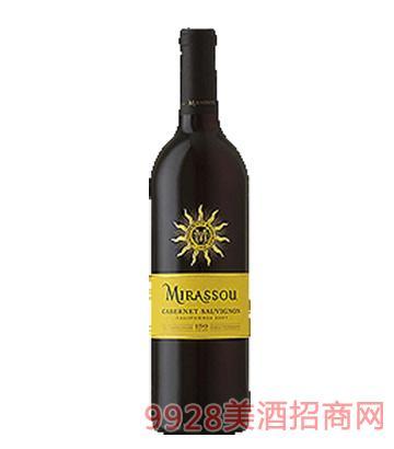 美诺颂赤霞珠红葡萄酒