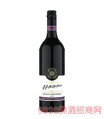 麦威廉捷捷西拉赤霞珠红葡萄酒
