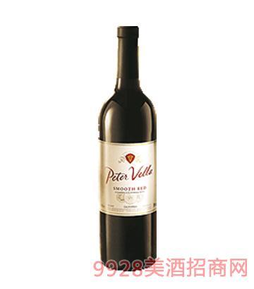 百乐莱柔顺红葡萄酒(经典加州葡萄酒)