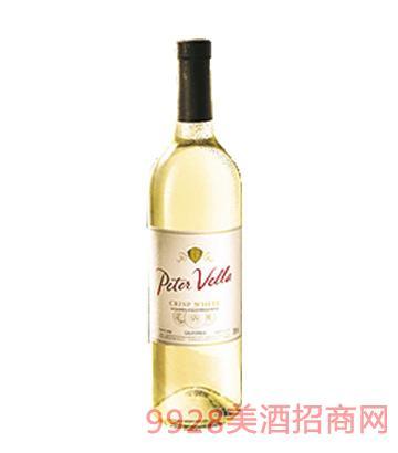 百乐莱清爽白葡萄酒(经典加州葡萄酒)