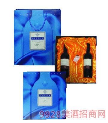 澳大利亚哈迪礼盒葡萄酒