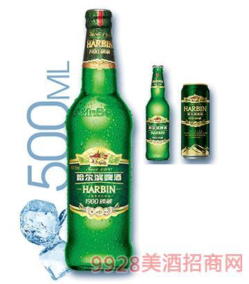 哈尔滨啤酒1900臻藏