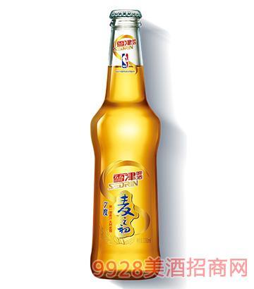 雪津啤酒纯生