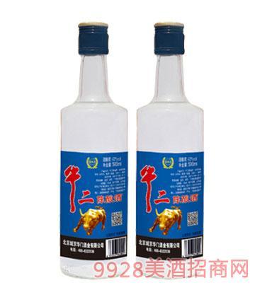 牛二陈酿酒精品500ml