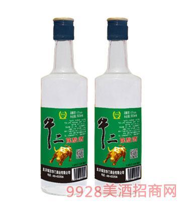牛二陈酿酒精品LB500ml