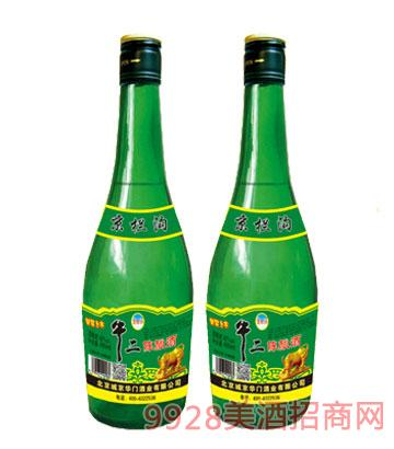 牛二陈酿酒绿瓶480ml