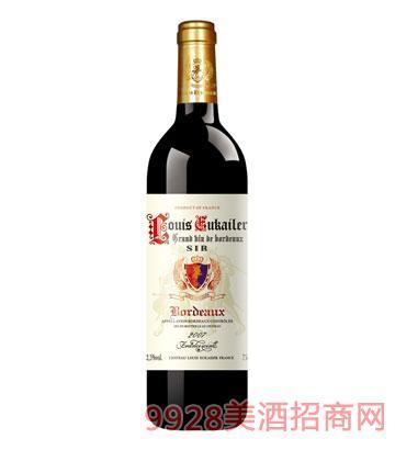 法国路易欧帝2007爵士干红葡萄酒