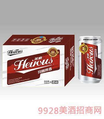 英豪玛咖啤酒罐330ml