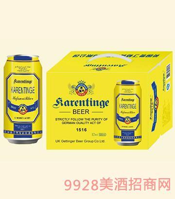 奥丁格啤酒1516罐装500mlx12
