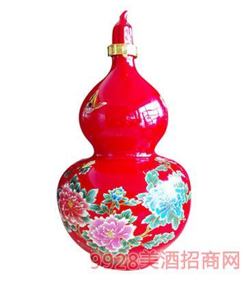 花開富貴酒紅葫蘆10斤