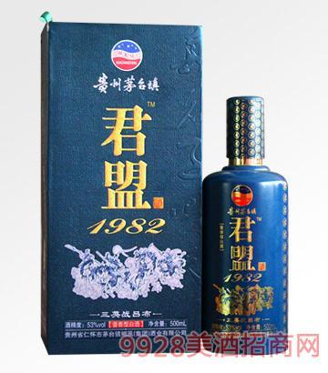 君盟酒1982三英战吕布53度500ml