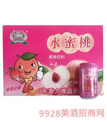 水蜜桃果味�料320ml