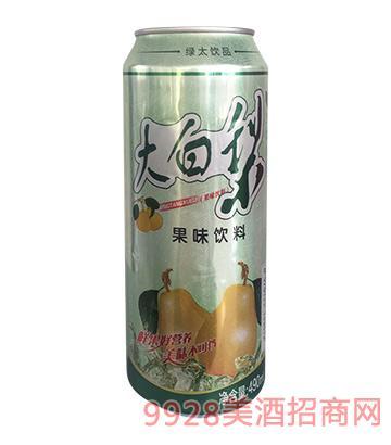 大白梨果味�料490ml
