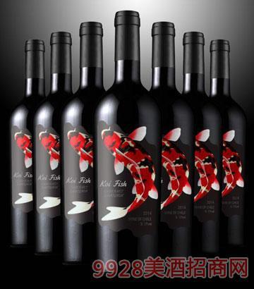 幸运鱼干红葡萄酒
