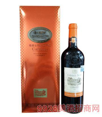 卡斯特格朗士科比艾干红葡萄酒